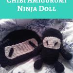 Chibi Amigurumi Ninja Doll Crochet Pattern