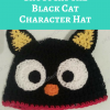 Chococat the Black Cat Character Hat Free Crochet Pattern