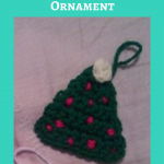 Christmas Tree Ornament Crochet Pattern