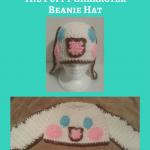 "Cinnamoroll ""Cinnamon"" the Puppy Character Beanie Hat Crochet Pattern"