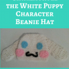 """Copy of Pompompurin """"Purin"""" the Sanrio Dog Character Hat Free Crochet Pattern"""