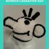 Diary of a Wimpy Kid Rodrick Character Hat Free Crochet Pattern