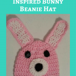 Easy Anime Inspired Bunny Beanie Hat Crochet Pattern