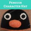 Pingu the Penguin Character Hat Crochet Pattern long image