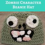 Plants vs. Zombies Zombie Character Beanie Hat Crochet Pattern
