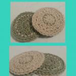 Reversible Coasters Crochet Pattern