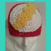 The Flash Superhero Beanie Hat Free Crochet Pattern
