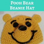 Winnie the Pooh Bear Beanie Hat Crochet Pattern